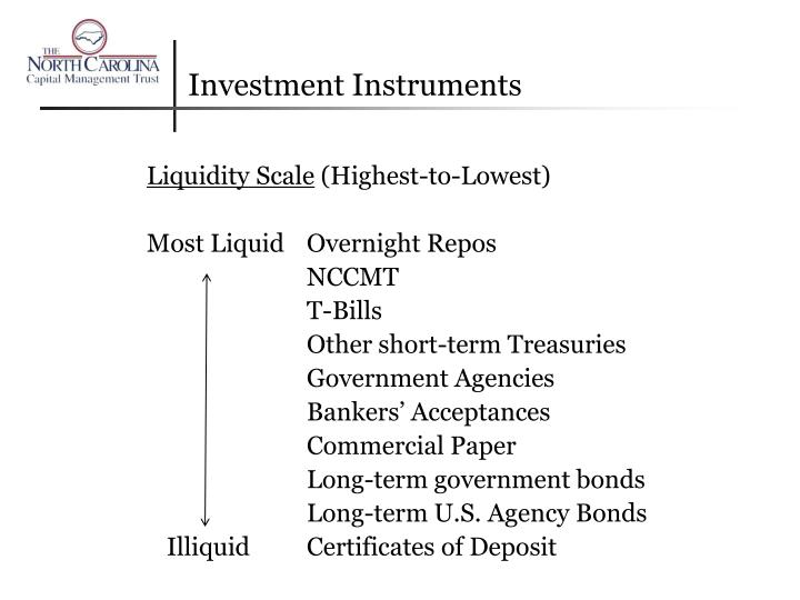 Investment Instruments