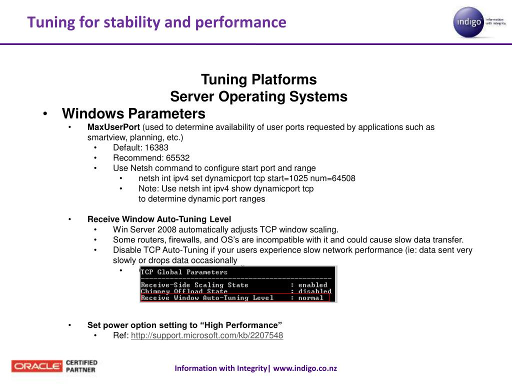 PPT - Infrastructure Preparations for Oracle/Hyperion EPM