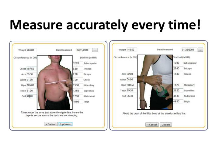 Measure accurately every time!