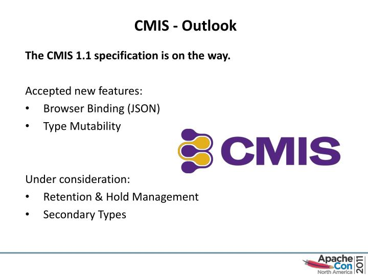CMIS - Outlook