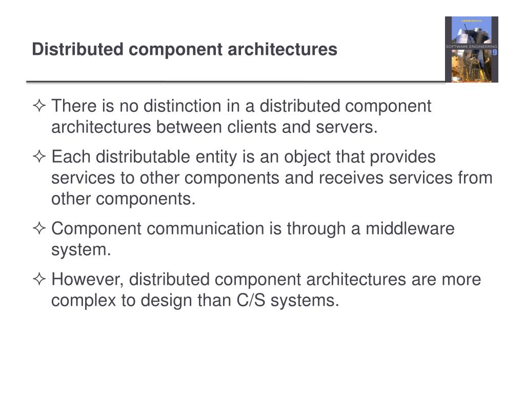 Ppt Chapter 18 Distributed Software Engineering Powerpoint Presentation Id 1537016