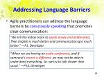 addressing language barriers
