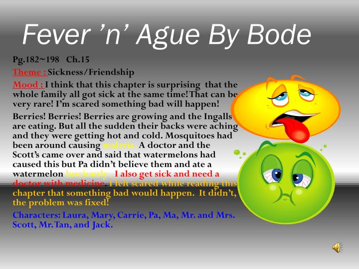 Fever 'n' Ague By Bode