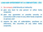 loan and investment by a company sec 1861
