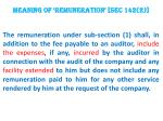 meaning of remuneration sec 142 2