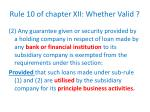 rule 10 of chapter xii whether valid1