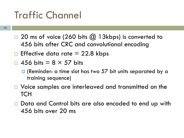 Traffic Channel