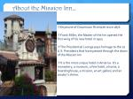 about the mission inn