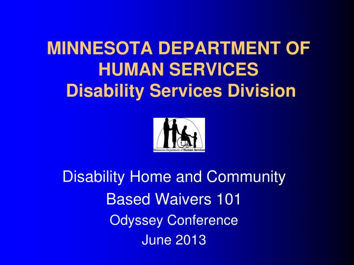 minnesota department of human services disability services division n.