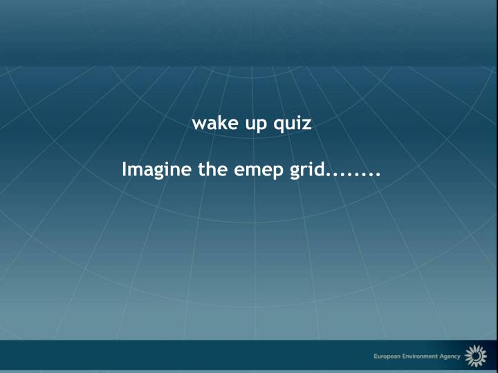 wake up quiz