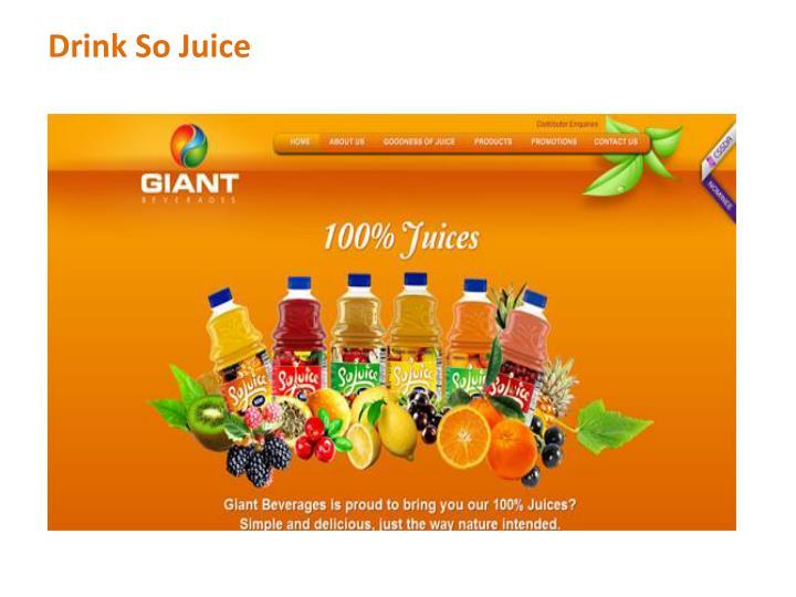 Drink So Juice