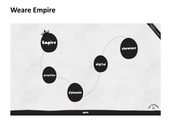 Weare Empire