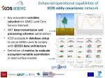 enhanced operational capabilities of icos eddy covariance network