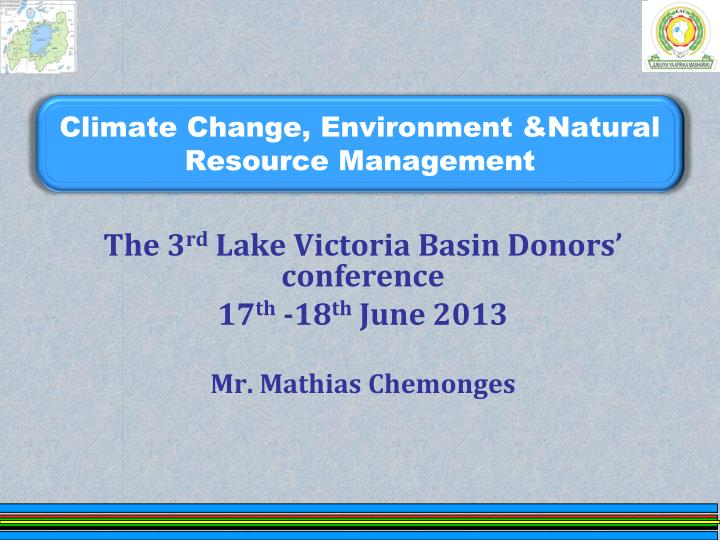climate change environment natural resource management n.