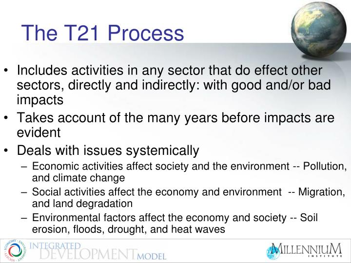 The T21 Process