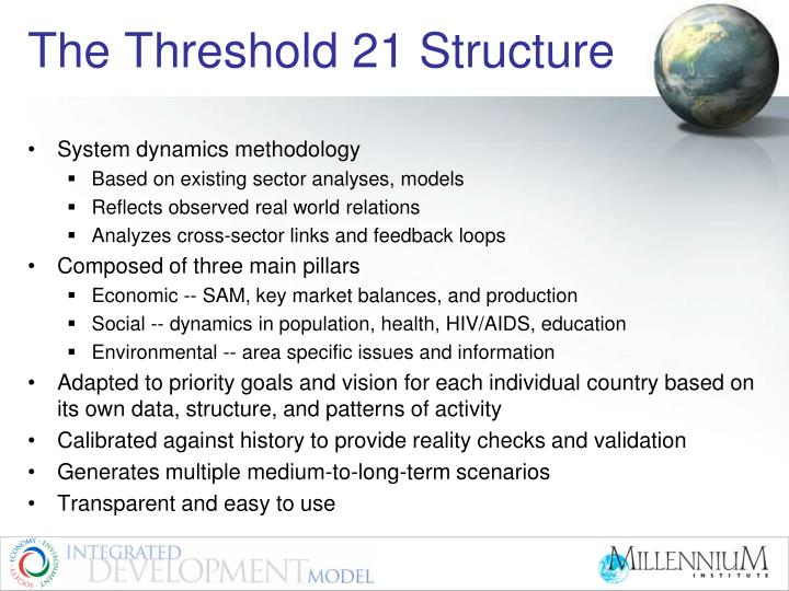 The Threshold 21 Structure
