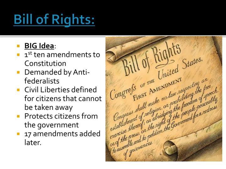 Bill of Rights:
