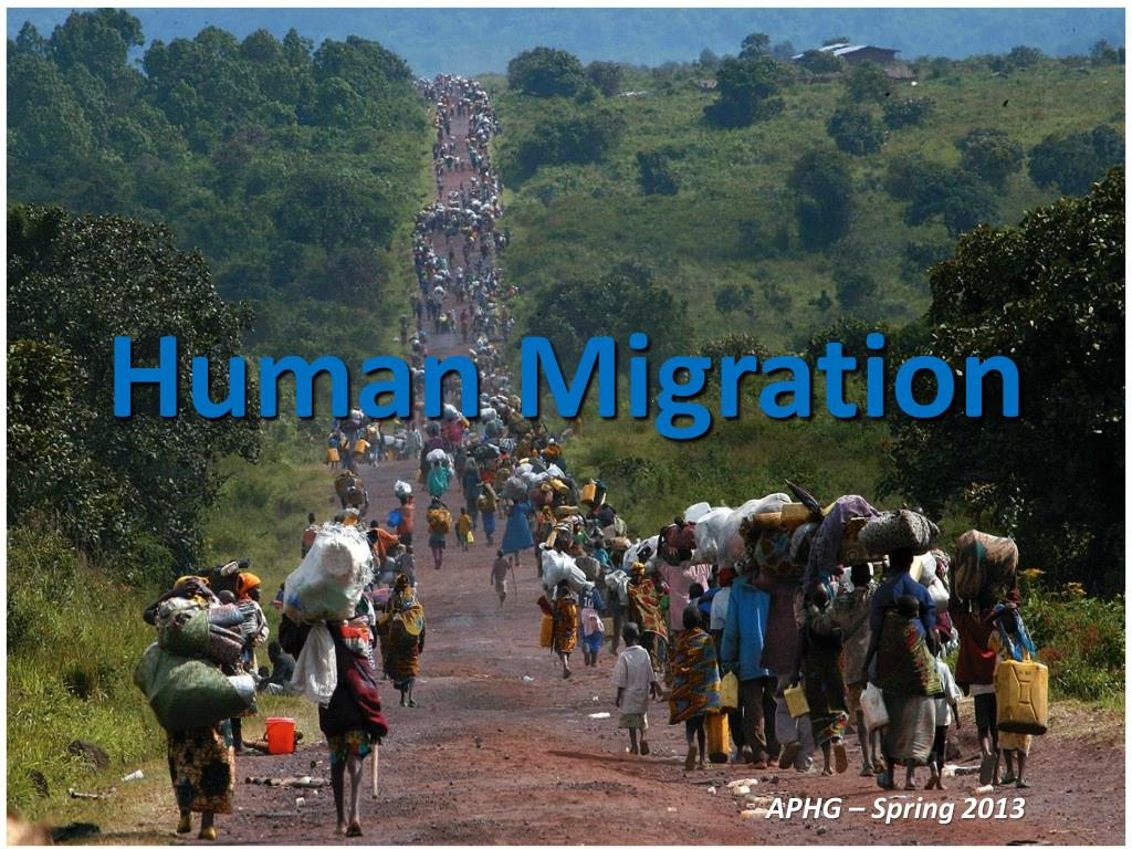 ppt human migration powerpoint presentation id 1538195