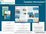 complex information1