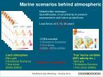 marine scenarios behind atmospheric