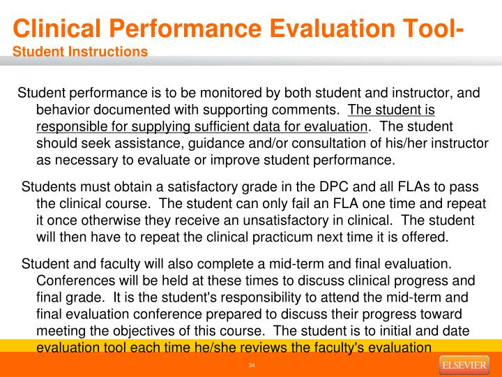 Clinical Performance Evaluation