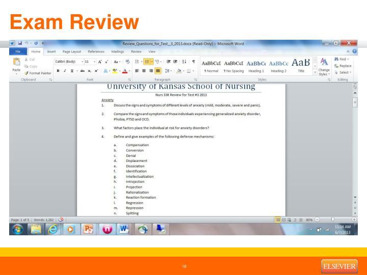 Exam Review