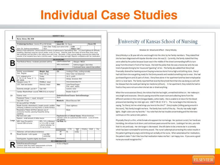 Individual Case Studies