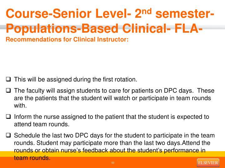 Course-Senior Level- 2