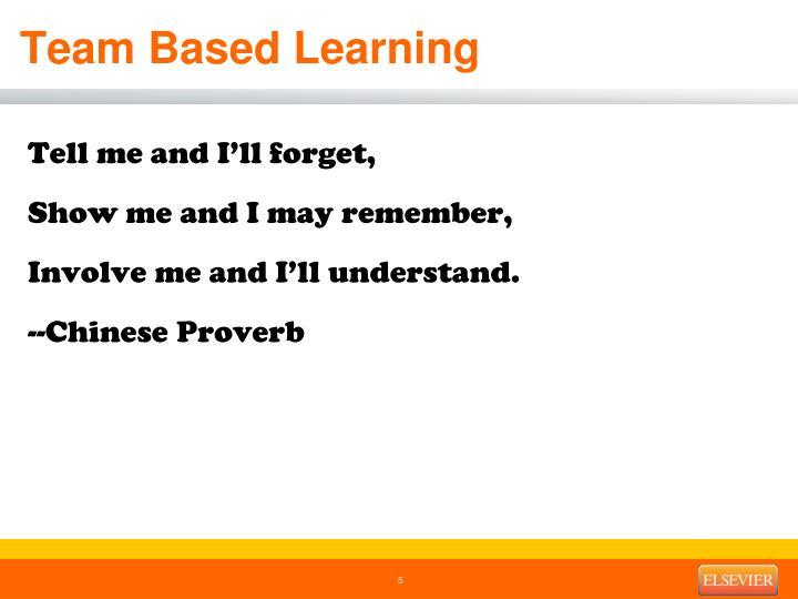 Team Based Learning
