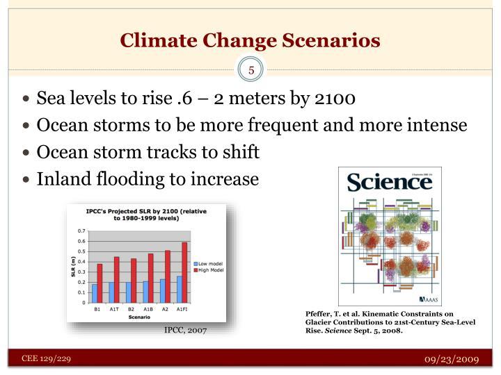 Climate Change Scenarios