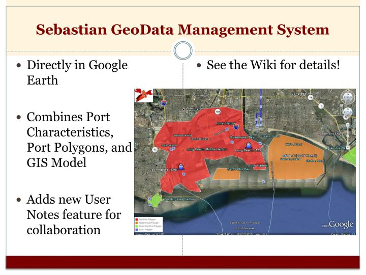 Sebastian GeoData Management System