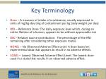 key terminology3