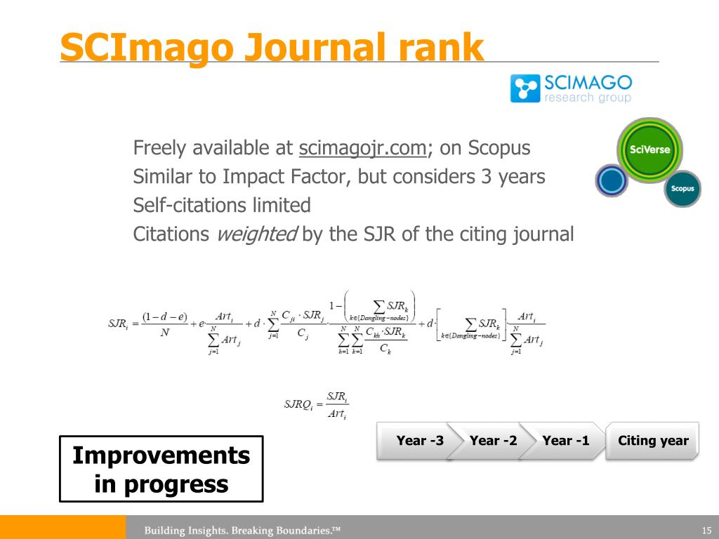 PPT - Journal level impact assessment PowerPoint Presentation - ID