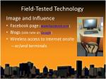 field tested technology1