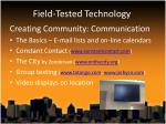 field tested technology2