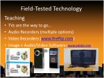 field tested technology6