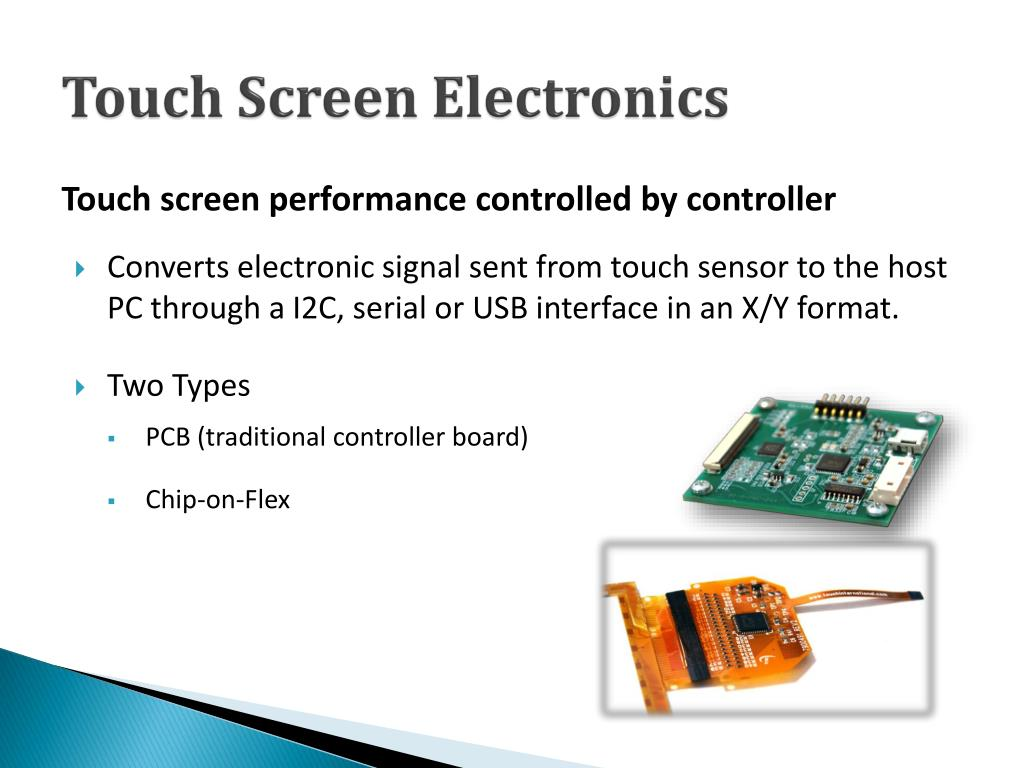 PPT - Maximizing Hardware & Software Selections for Advanced Touch
