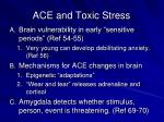 ace and toxic stress