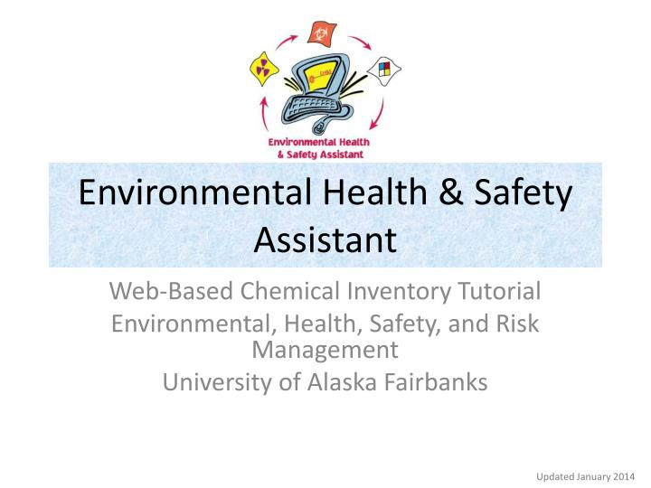 environmental health safety assistant n.