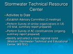 stormwater technical resource center7