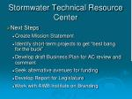 stormwater technical resource center8