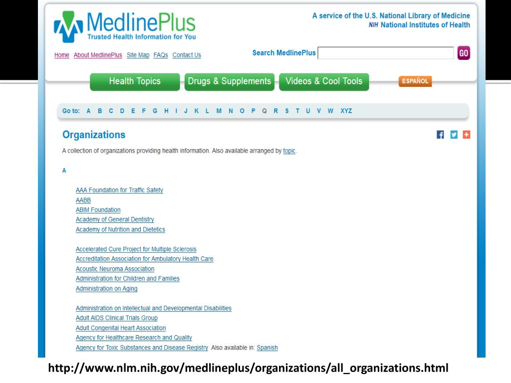 Developmental Disabilities Medlineplus >> Ppt More Than A Bandage Health Information Resources For