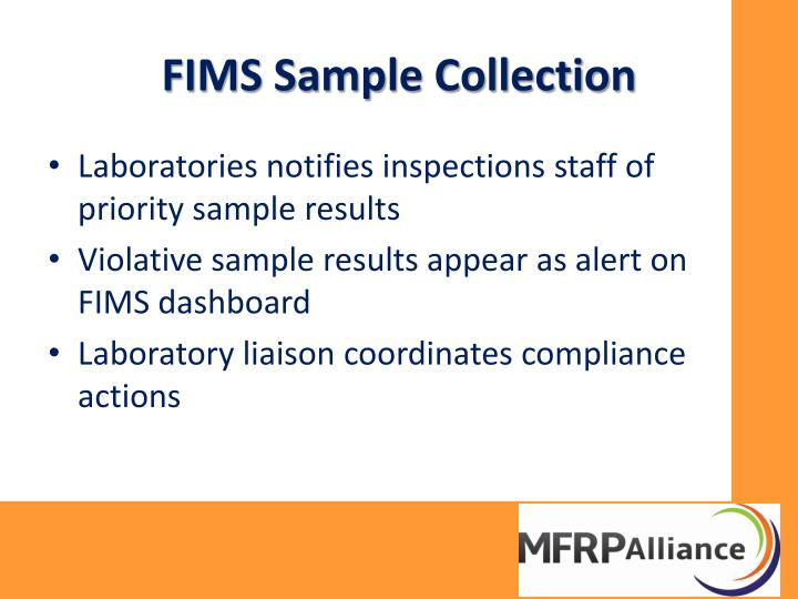FIMS Sample Collection
