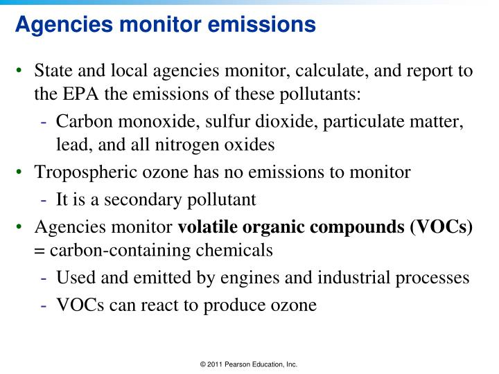 Agencies monitor emissions