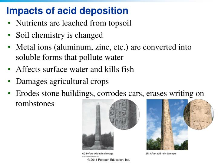 Impacts of acid deposition