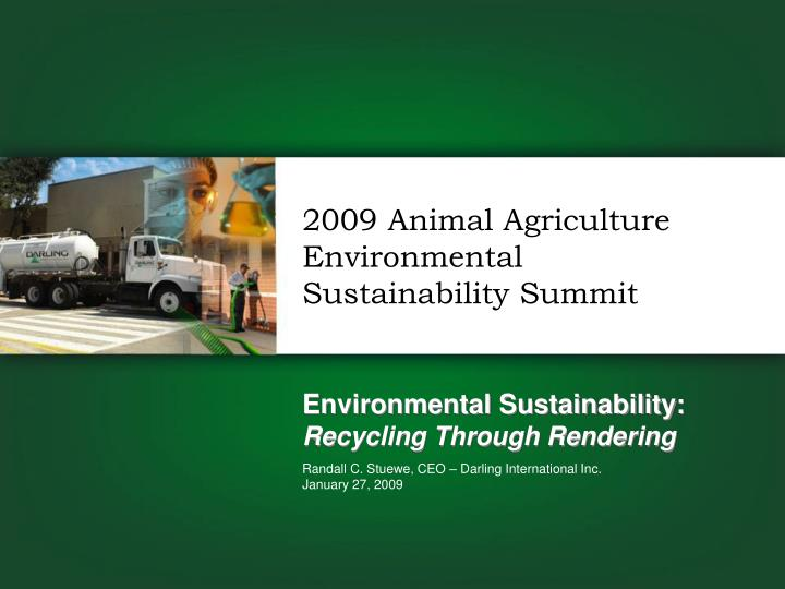 environmental sustainability recycling through rendering n.