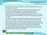 nda total measurement uncertainty tmu