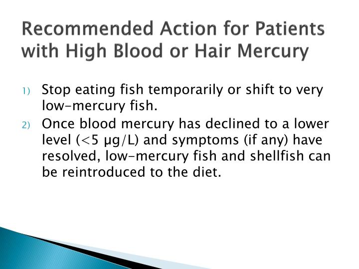 Recommended Action for Patients