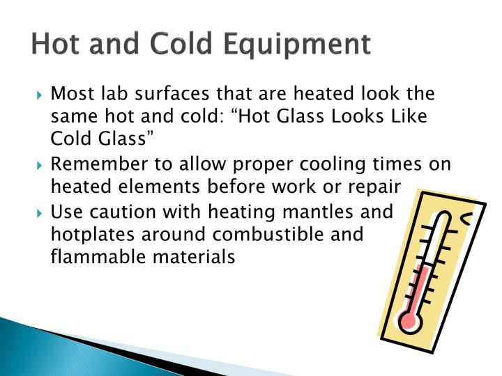 Hot And Cold Equipment