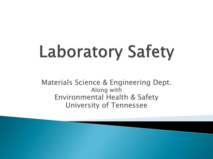laboratory safety n.